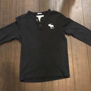 Abercrombie kid XL waffle long sleeve shirt